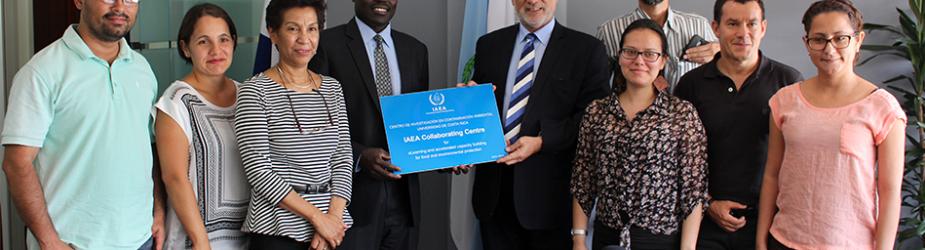 Organismo Internacional de Energía Atómica renueva al CICA como centro de colaboración.